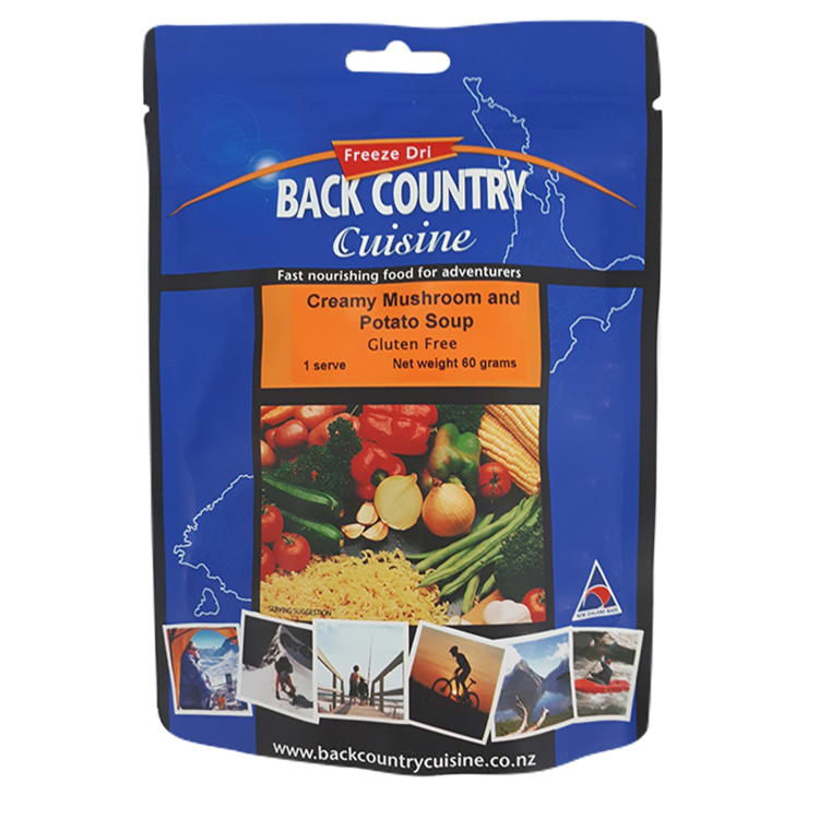 Back Country Creamy Mushroom and Potato Soup - default