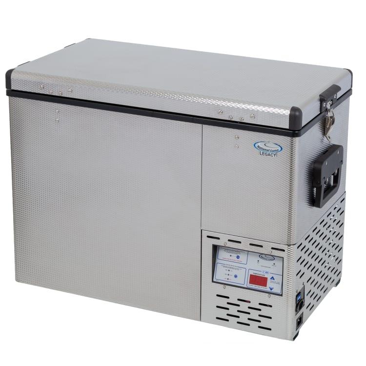 National Luna Legacy NL52 Stainless Steel Fridge/Freezer - default