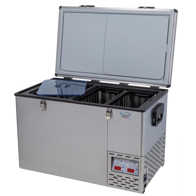 National Luna Legacy NL60 Stainless Steel Fridge/Freezer - default