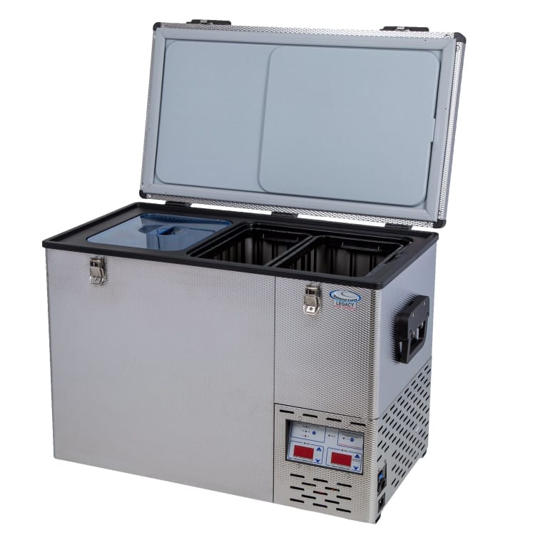 National Luna Legacy NL90 Stainless Steel Fridge/Freezer - default