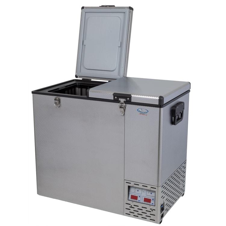 National Luna Legacy NL110 Stainless Steel Fridge/Freezer Double Door - default