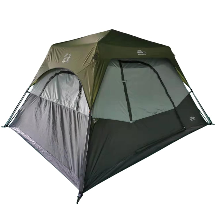 Natural Instincts Instant 6 Person Cabin Tent - default