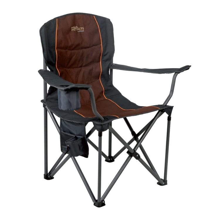 Natural Instincts Platinum Oversize Deluxe Heavy Duty Chair With Pocket - default