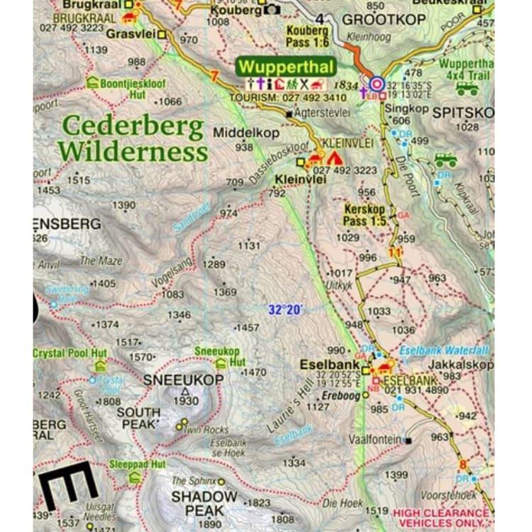 Slingsby Cederberg Touring Map - default
