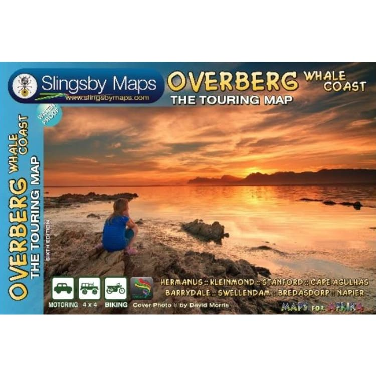 Slingsby Overberg Whale Coast Touring Map - default