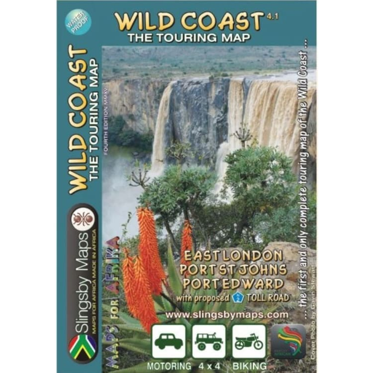 Slingsby West Coast Touring Map - default