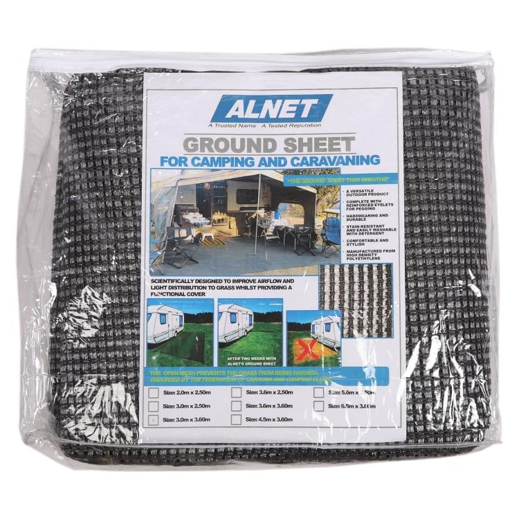 Alnet Netted Groundsheet 3.6 x 3m(Grey) - default