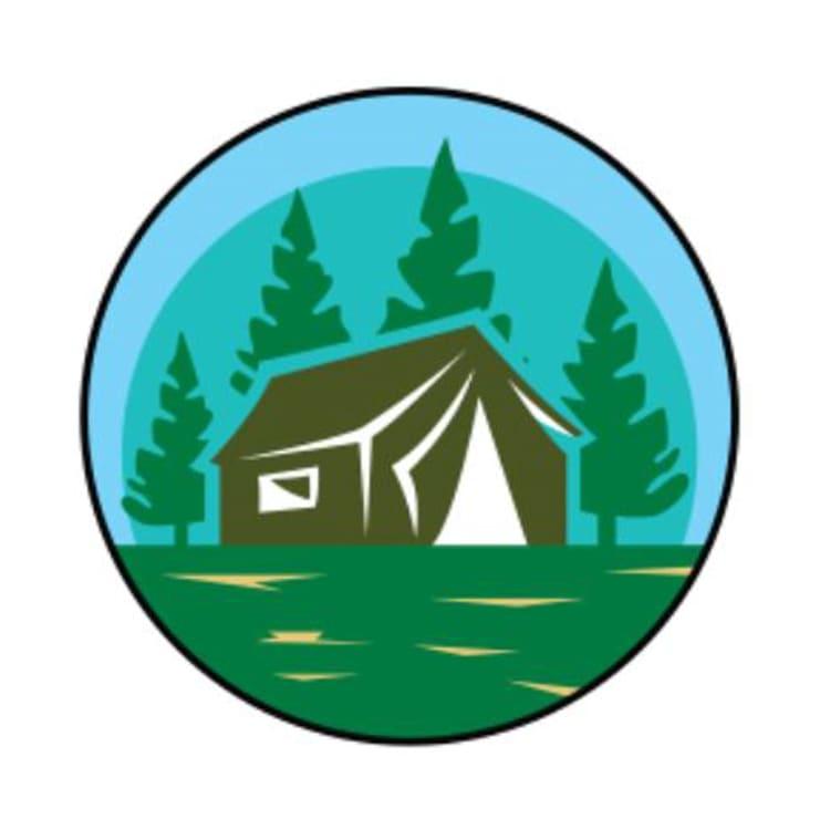 Camping Tag Small - default