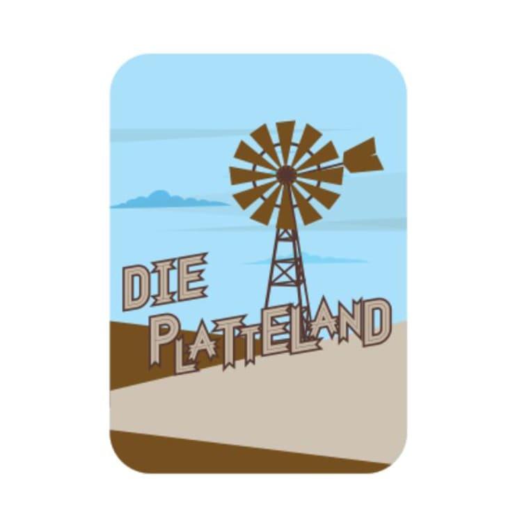 Die Platteland Dog Tag - default