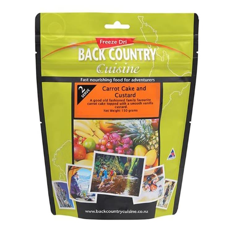 Back Country Carrot Cake & Custard - default