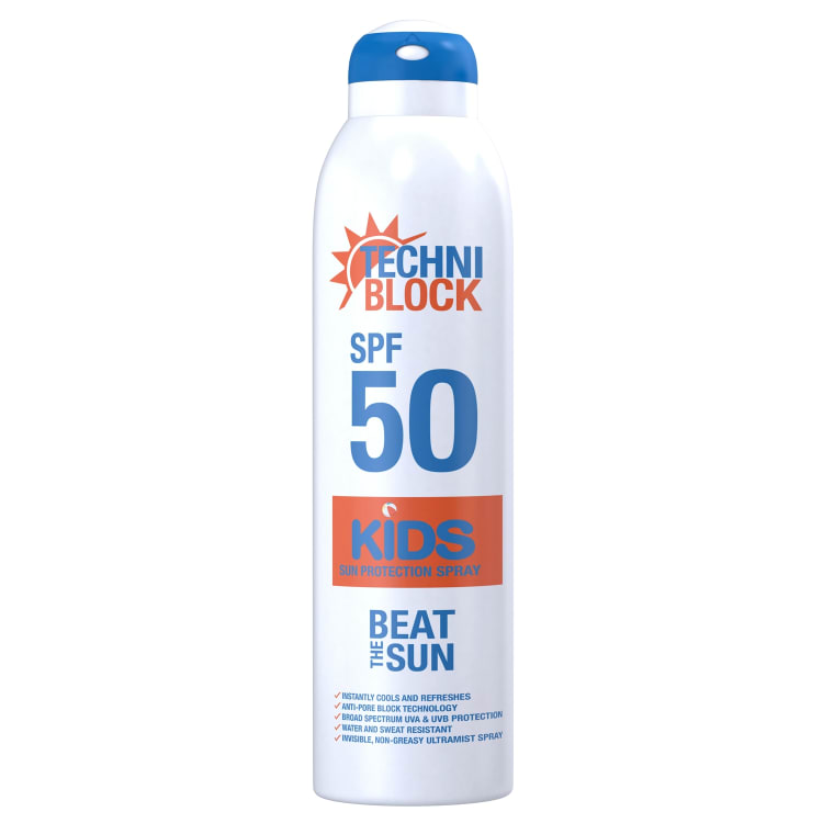 Techniblock SPF 50 Kids Spray - default