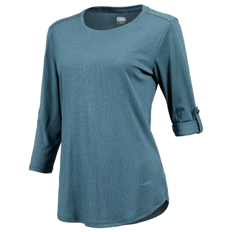 First Ascent Women's Solar Lite 3/4 Sleeve Top - default