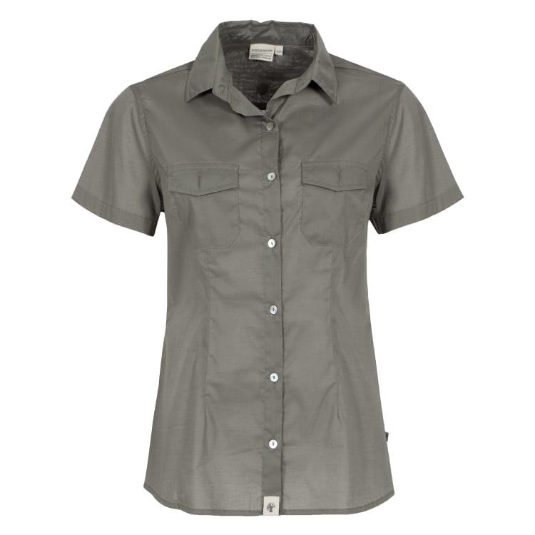 African Nature Women's Ess Voile Short Sleeve Shirt - default