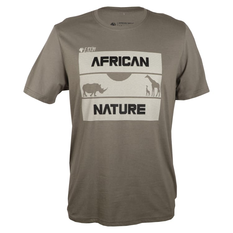 African Nature Men's Silhouette Tee - default