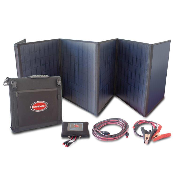 SnoMaster 125W Folding Solar Panel - default
