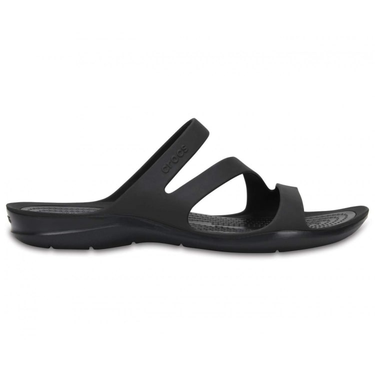 Crocs Swiftwater Sandal Women's(Black) - default