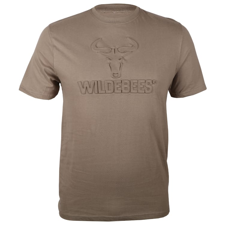Wildebees Men's Embossed Tee - default