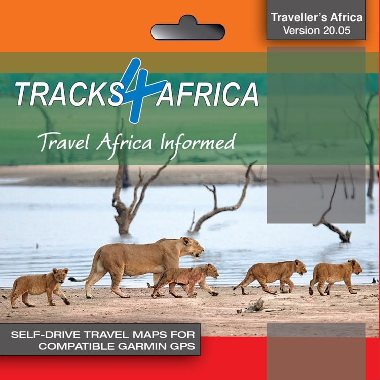Tracks 4 Africa GPS Map 20.05 - default