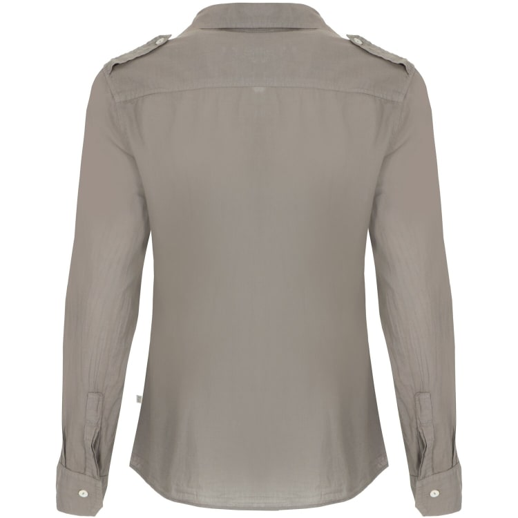 African Nature Women's Safari Cotton Voile Long sleeve Shirt - default