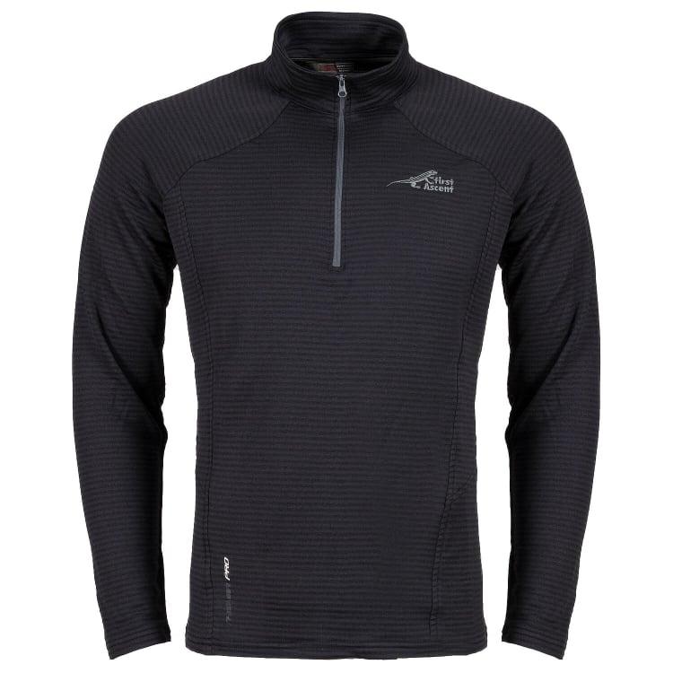 First Ascent Men's Finn Fleece 1/4 Zip Top - default