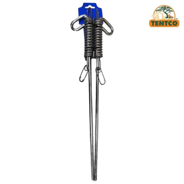 Tentco Spring Peg 450mm x 8mm 2 Pack - default