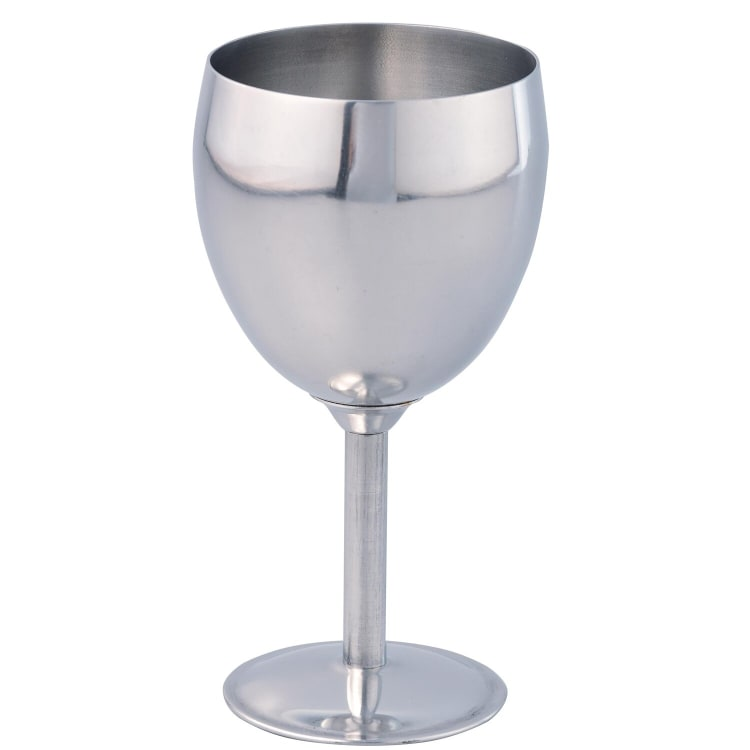 THERMO STEEL 250ML STAINLESS STEEL WINE GOBLET - default