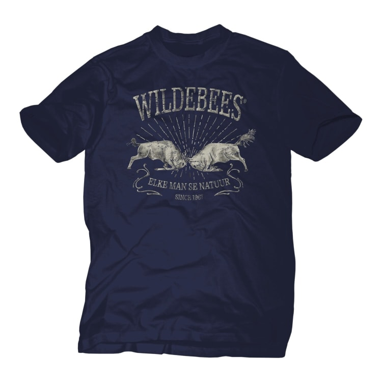 Wildebees Men's Charging Wildebees Tee - default