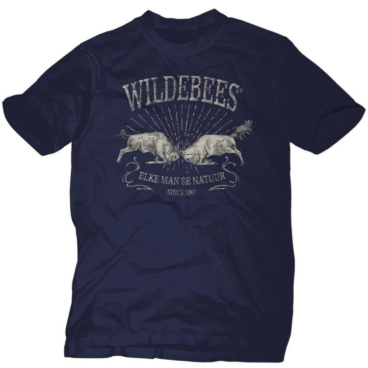 Wildebees Men's Charging Wildebees Tee (2XL-5XL) - default