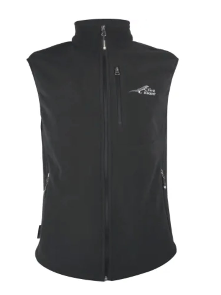 First Ascent Men's Core Waistcoat - Black