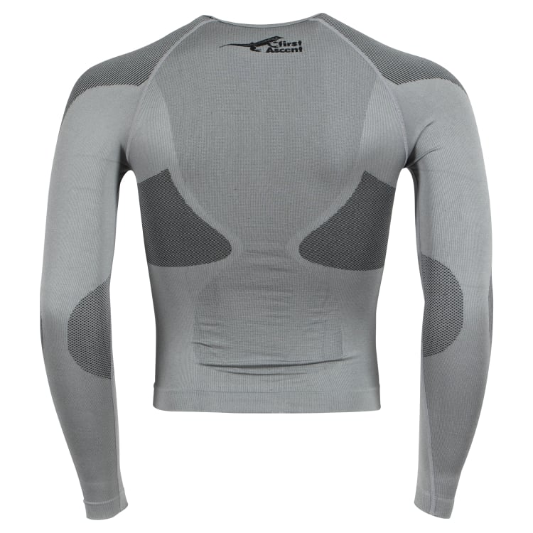 First Ascent Men's Derma-Tec Seamless Top Long Sleeve - default