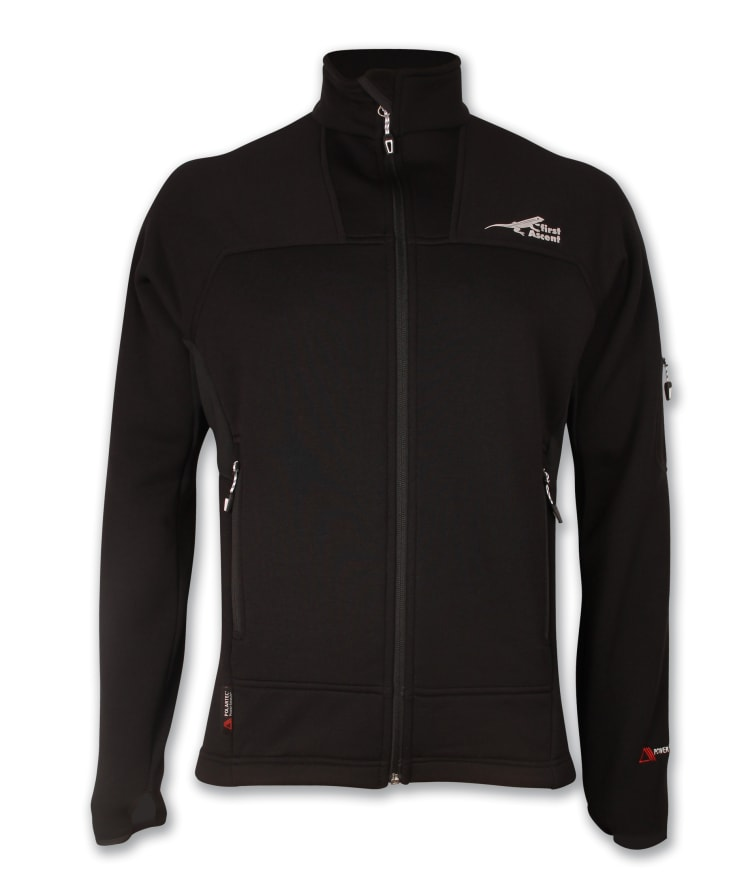 First Ascent Men's K2 Powerstretch Jacket - default