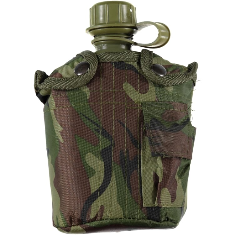 360 Degrees Army Style Waterbottle 1000ml - default