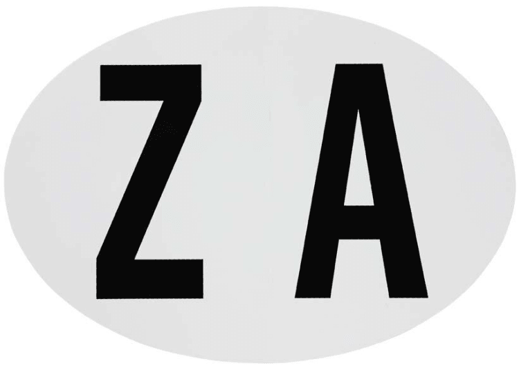 Small ZA Sticker - default