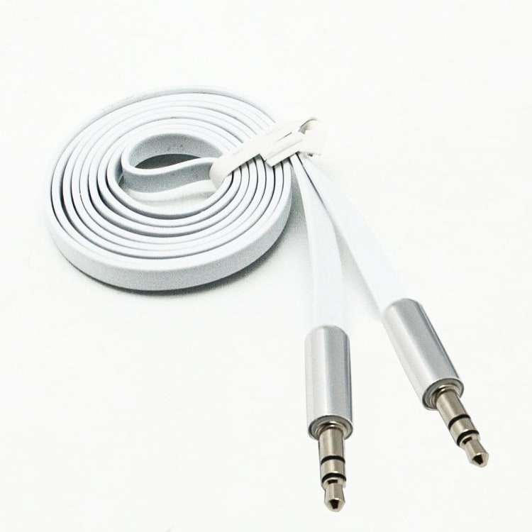 Red-E Flat TPU 3.5mm AUX Cable - 1 meter - default