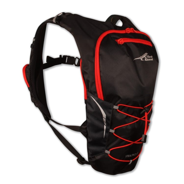 First Ascent Stealth 2L+5L Trail Running Pack - default