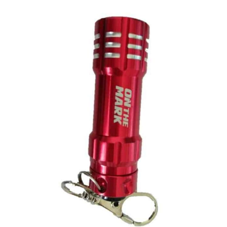 On The Mark Keychain LED Torch - default