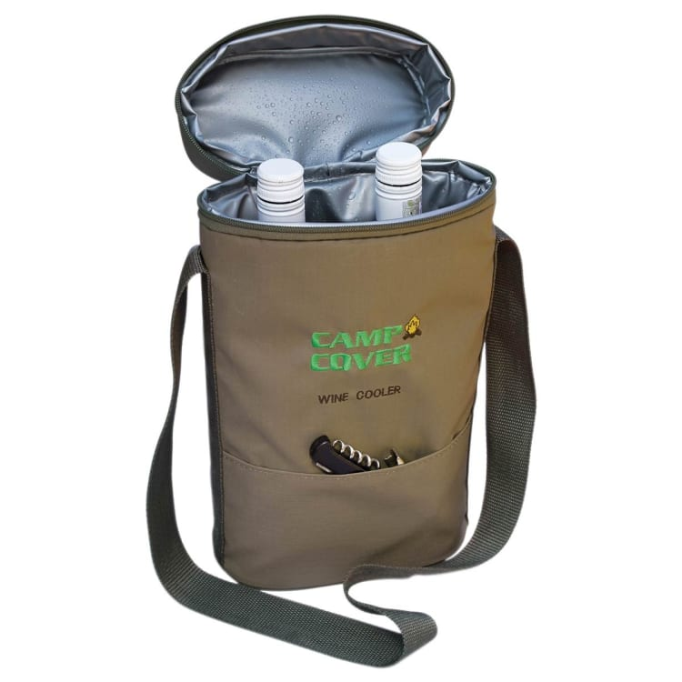 Camp Cover Two Bottle Wine Cooler - default