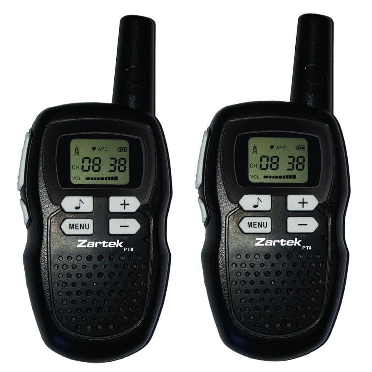 Zartek PT8 Two-Way Radio's Twin Pack - default