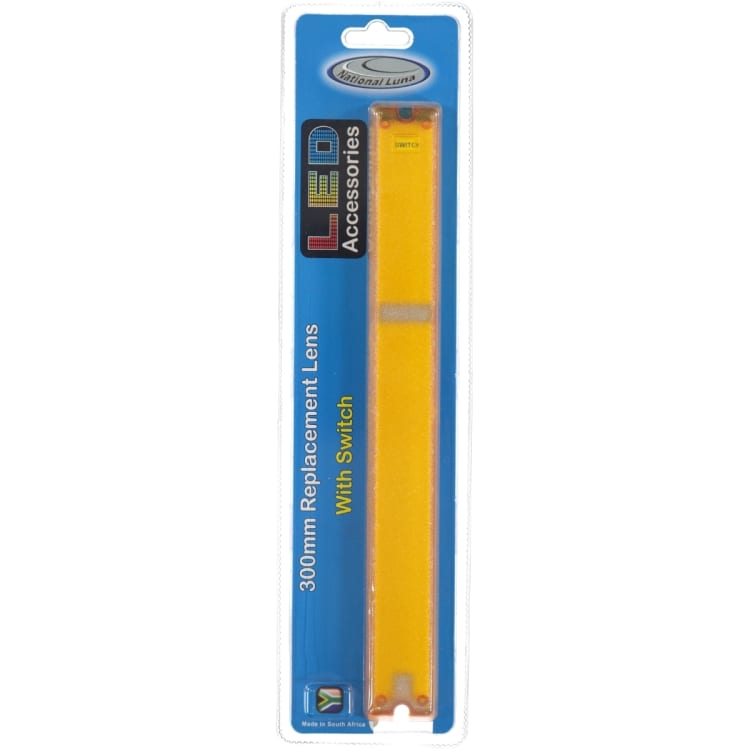 300mm LED Yellow Lens - default