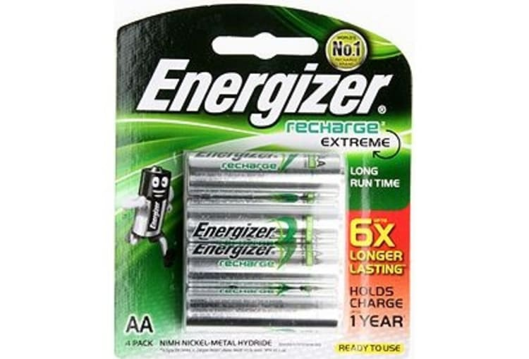 Energizer 4AA Rechargeable Batteries - default