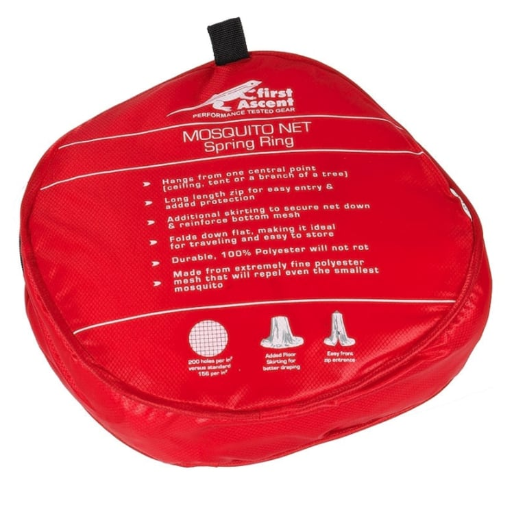 First Ascent Mosquito Net Double - Spring Ring - default