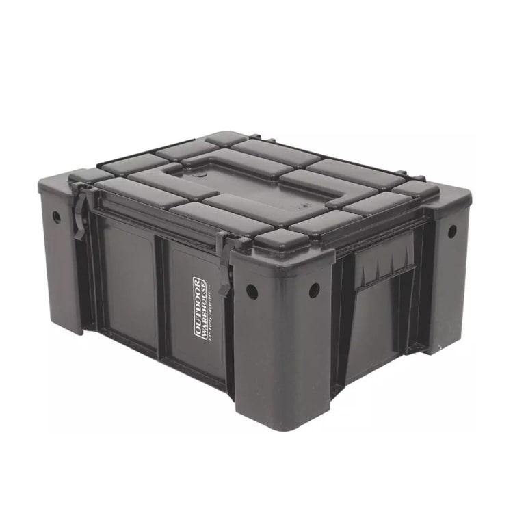 Outdoor Warehouse Ammo Box with a Low Lid - default