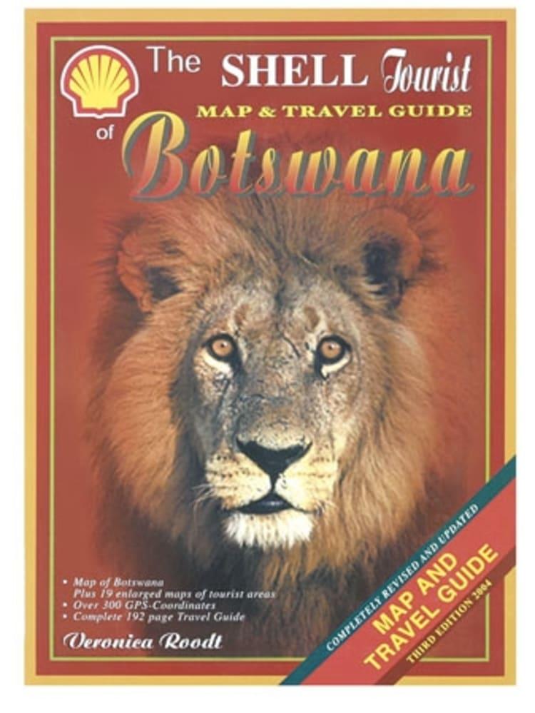 Shell New Tourist Botswana Book+Map - default