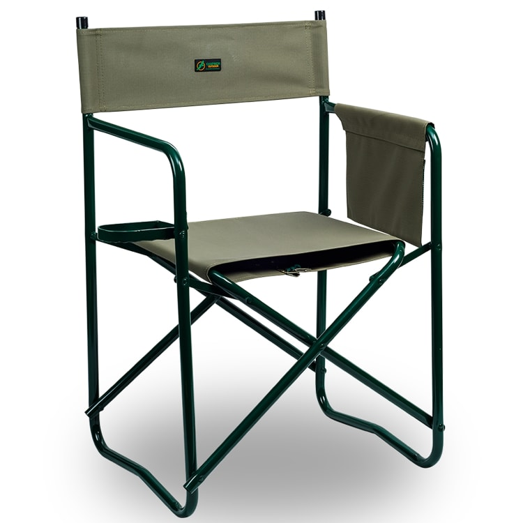 Campmor Director's Chair with Glass Rest - default