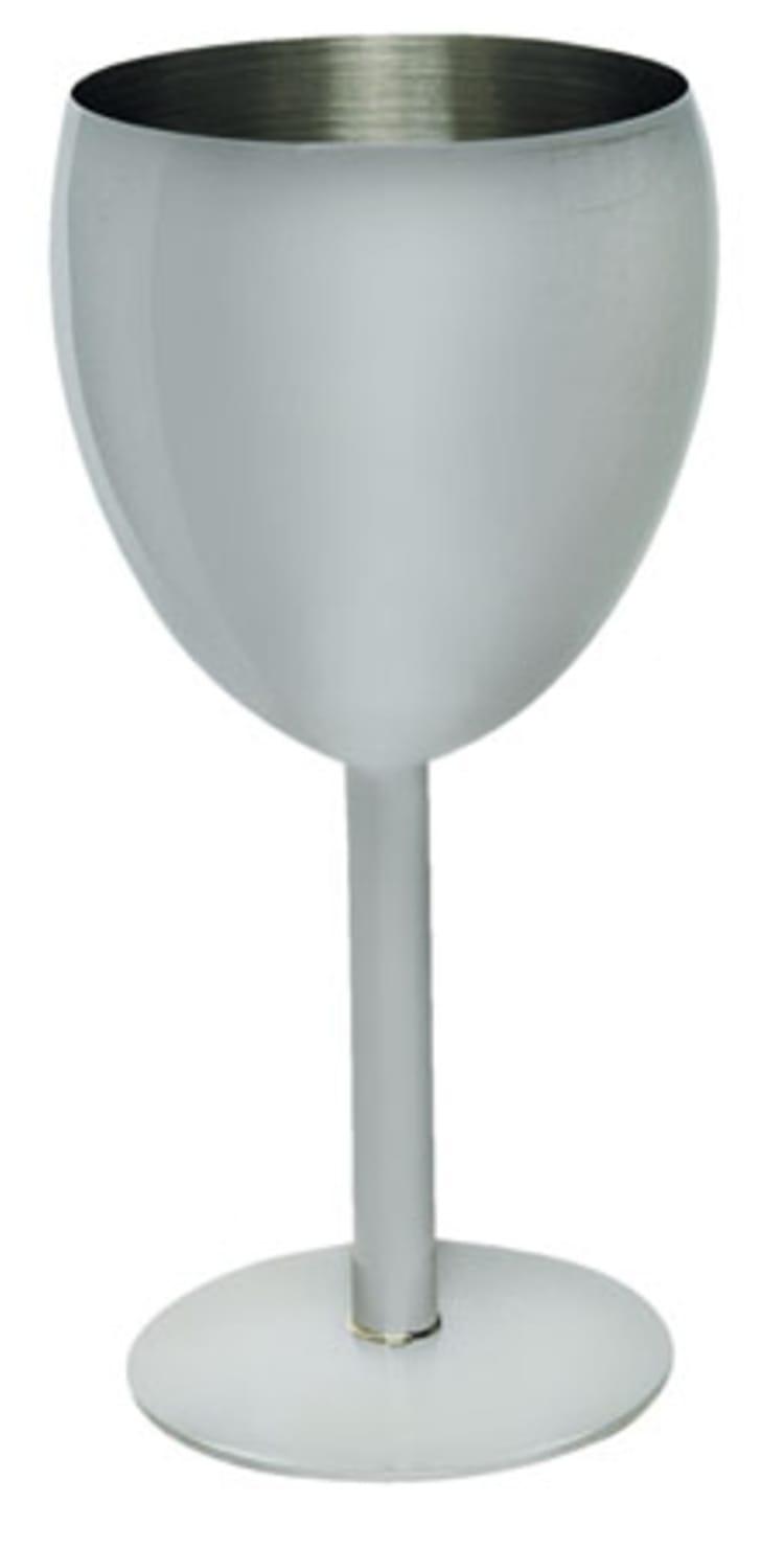 Leisure Quip Stainless Steel Wine Goblet (275ml) - default