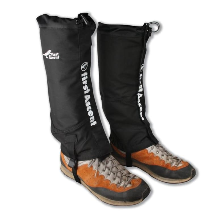 First Ascent Full Calf Waterproof Gaiters (M/L) - default