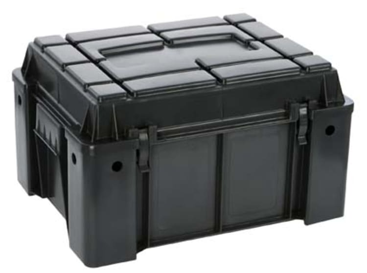 Outdoor Warehouse Ammo Box with a High Lid - default