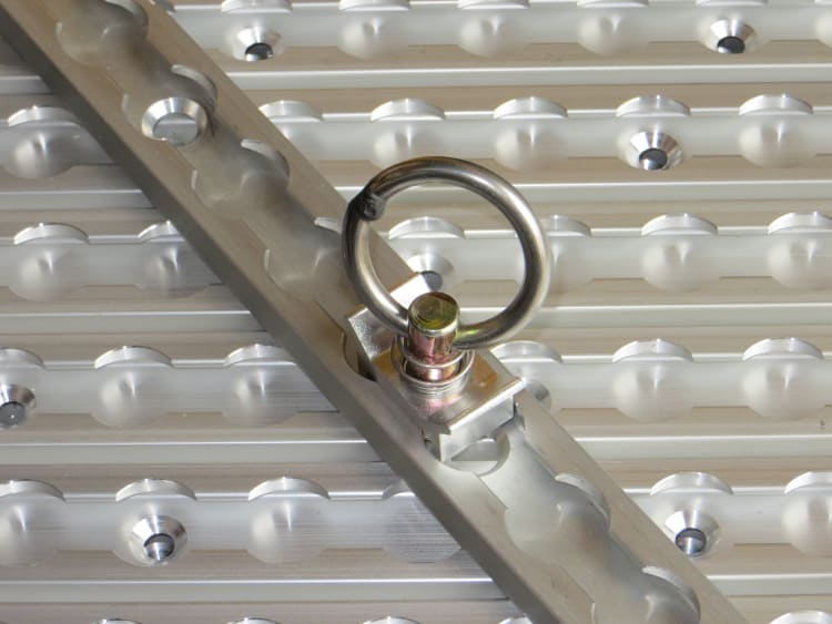 SecureTech Aluminium Cargo Track Single Stud - default