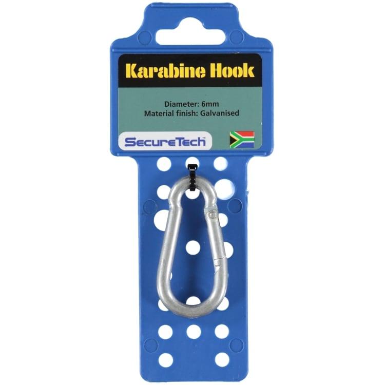 SecureTech Spanset Keyring Carabiner - default