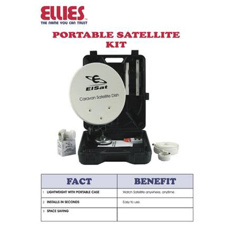 Ellies Satellite Dish Kit - default